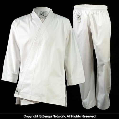 KD Elite Heavyweight (11 oz.) White Karate Uniform